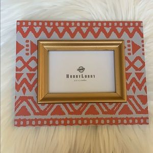 ❤️Gold and tribal style frame